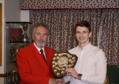 Jack Kelbrick - Handicap Champion